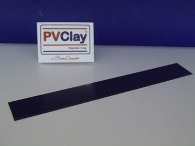 Lâmina flexível PVClay em aço inox (18 cm x 2,5 cm) - R$ 18,00